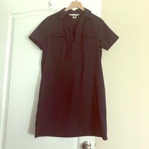 Diane VonFurstenburg  a-line poplin shirt dress